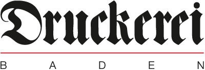 Druckerei Baden Logo